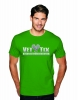 (No Branch) Vet Tix Kelly Green Short Sleeve Shirt with blank back