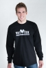 Navy Veteran (on back) Vet Tix Black Long Sleeve Shirt