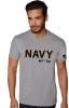 NAVY Vet Tix STENCIL Short Sleeve T-Shirt
