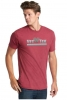 (No Branch) Vet Tix Heathered Red Short Sleeve Shirt with blank back